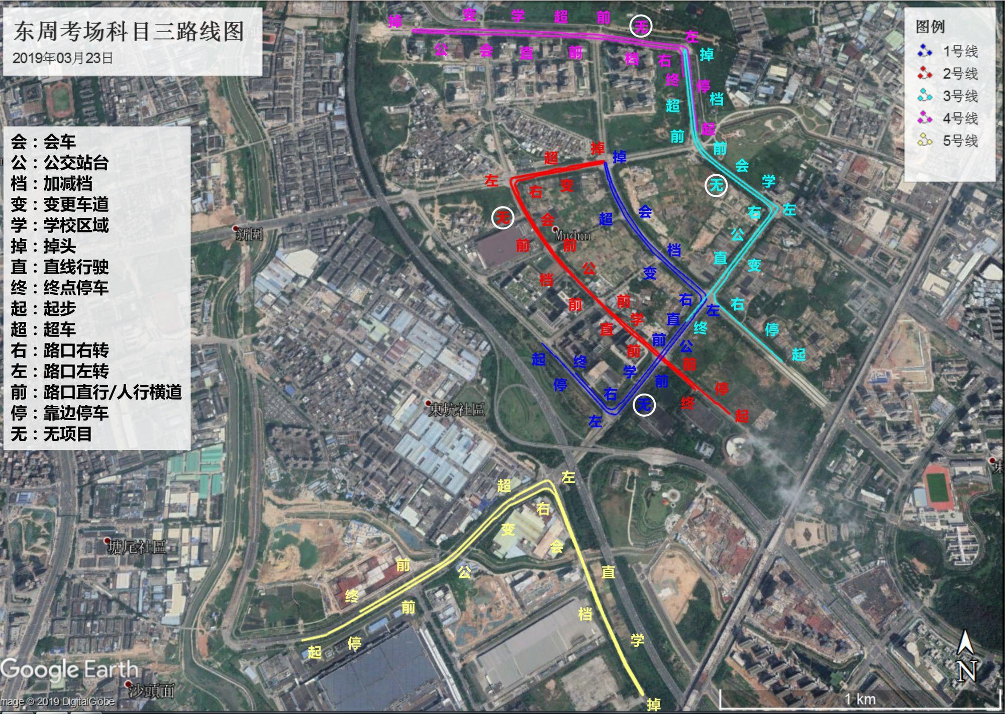 东周考场路线图